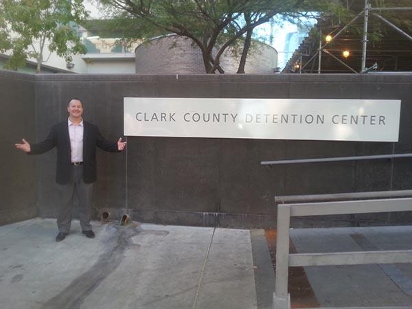 Clark County Detention Center Las Vegas Bail Bondsman Marc Gabriel