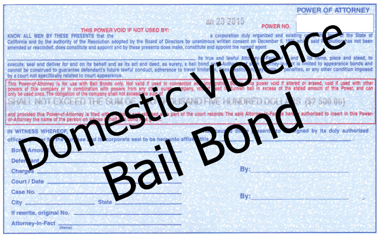 Domestic Violence Bail Bonds in Las Vegas